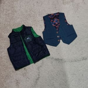 Like new.. 6 to 12 months baby boy vests